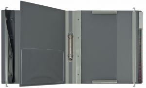 Doku-Mappen System 2000 grau (2)