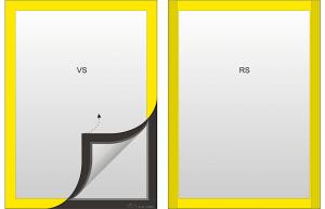 gelbe Rahmen