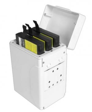 CI Medical 3-fach Akku-Halter (Holster) für Peripheriegeräte mit 12V, 15V, 19V Ausgang
