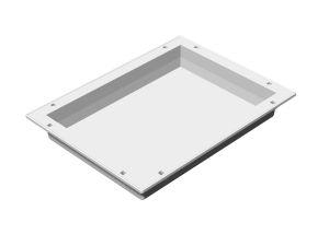 ABS-Modul 300 x 400 x 50 mm, nicht teilbar