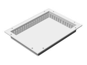 ABS-Modul 300 x 400 x 50 mm, teilbar