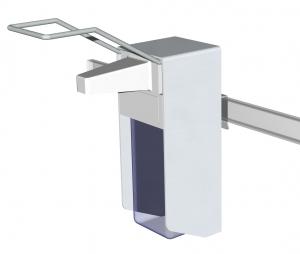 Desinfektionsmittelspender (DIMS) 500ml für Geräteschiene