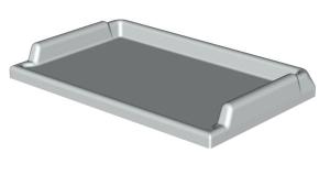Arbeitsplatte Kunststoff-Top ABS B/T 750/460
