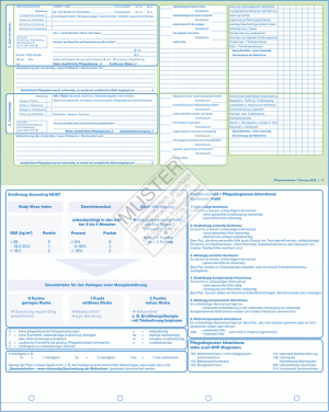Pflegeanamnese / Planung AEDL 1 - 6