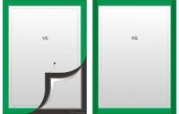 grüne Rahmen