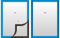 HINZ-Inforahmen DIN A4, mit Fenster