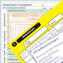 formulare klinik - Pflegedokumentation Muster