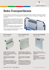 Flyer Doku-Transportbox